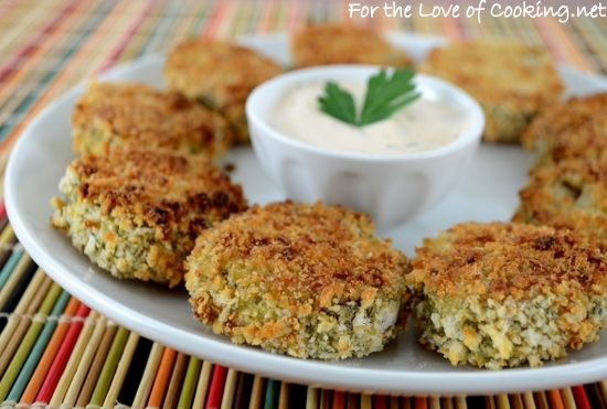 """Oven Baked """"Fried"""" Pickles"""