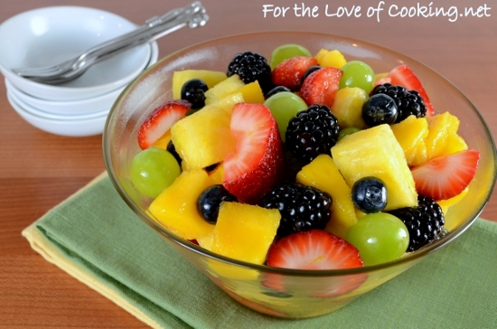 Fruit Salad with Honey-Citrus Dressing