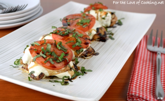 Baked Caprese Chicken Thighs