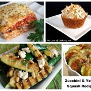 Zucchini and Yellow Squash - Recipe Round-Up
