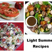 Light Summer Recipes Round-Up