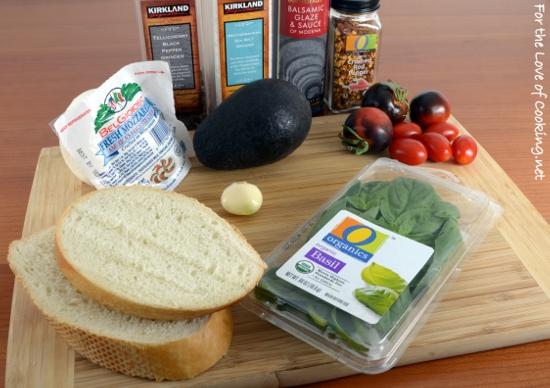 Caprese and Avocado on Toast