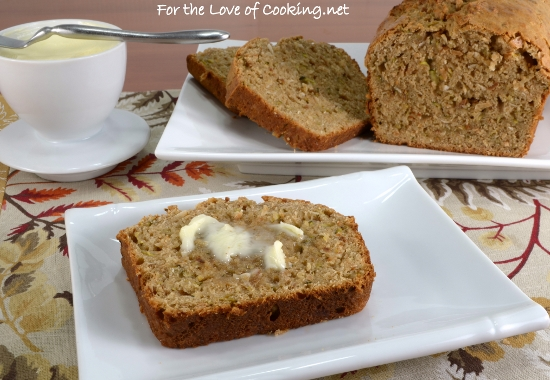 Toasted Coconut and Zucchini Bread