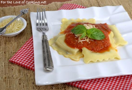 Roasted Heirloom Tomato and Herb Marinara
