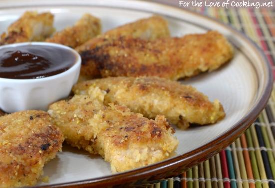 Crispy Parmesan Chicken Strips