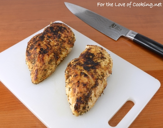 Spicy Chicken Breasts | For the Love of Cooking