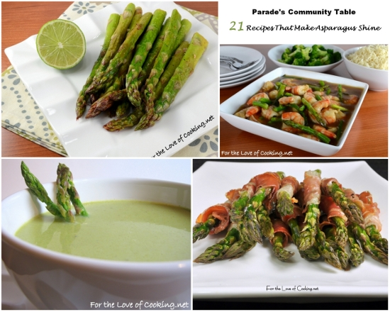 Parade?s Community Table ~ 21 Recipes That Make Asparagus Shine