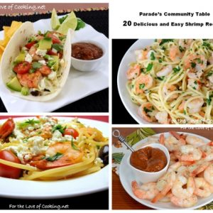 Parade's Community Table ~ 20 Delicious and Easy Shrimp Recipes
