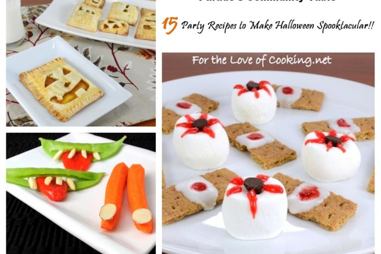 15 Party Recipes to Make Halloween Spooktacular!!
