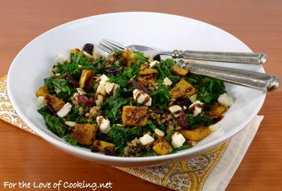 ... Kale, and Quinoa Salad with Balsamic Glaze | For the Love of Cooking
