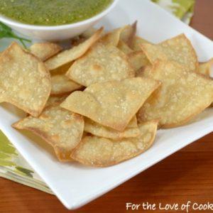 Homemade Baked Tortilla Chips