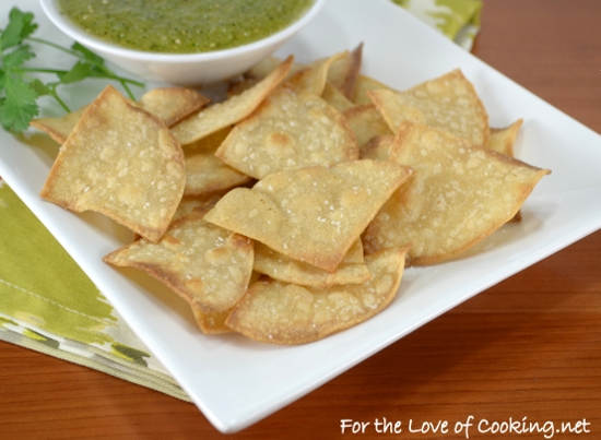 Homemade Baked Tortilla Chips | For the Love of Cooking