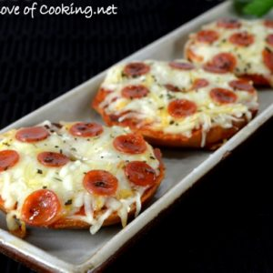Mini Bagel Pizzas