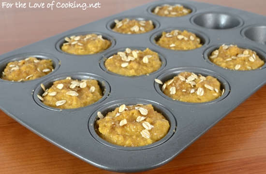 Maple-Pumpkin Muffins with Oats