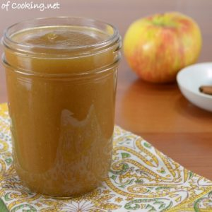 Homemade Cinnamon Applesauce