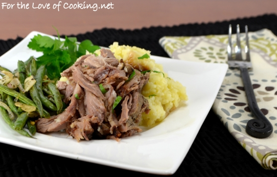 Shredded Slow-Roasted Herb Dijon Pork Shoulder
