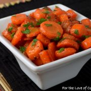 Carrot Sauté with Maple Syrup and Coconut Oil