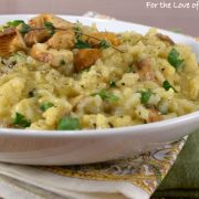 Chanterelle Risotto AND a Lagostina Risotto Pot GIVEAWAY!!