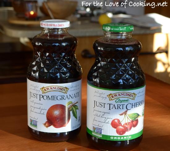Tart Cherry & Pomegranate Curd