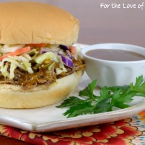 Carolina-Style Pulled Pork Sandwiches