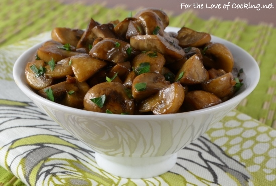 Mushroom Sauté with Soy, Butter, and Garlic