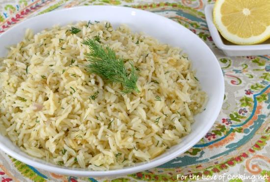 Lemon-Dill Rice