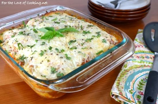 DSC_1598Ravioli Lasagna with Chicken Italian Sausage and Spinach
