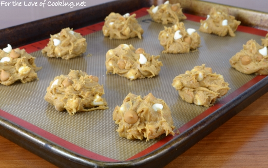 Butterscotch White Chocolate Chip Pudding Cookies