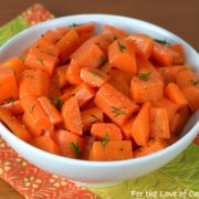 Buttery Carrot Sauté with Fresh Dill