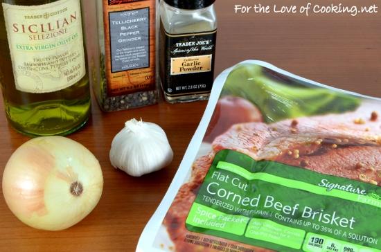 Slow Braised Corned Beef