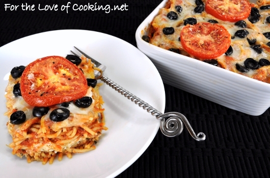 Baked Spaghetti with Ricotta