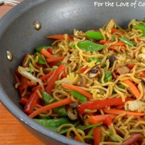 Vegetable Ramen Stir Fry