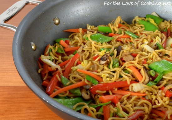 Vegetable Ramen Stir Fry