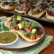 Taco French Bread Pizza