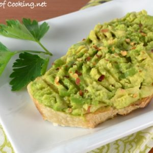 Spicy Avocado Toast