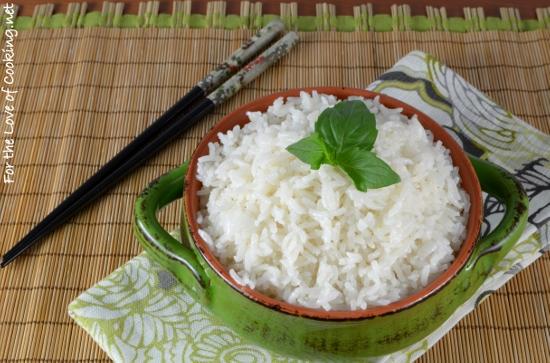 Lemongrass Coconut Rice