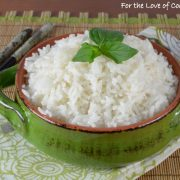 Lemongrass Coconut Rice