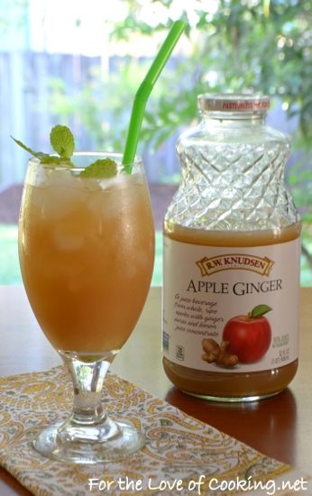 Apple-Ginger Sparkler