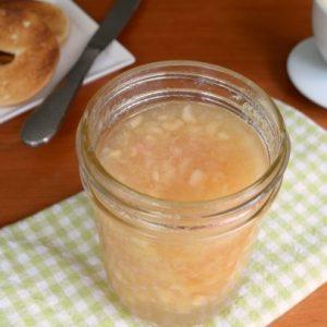 Nectarine Lime Freezer Jam