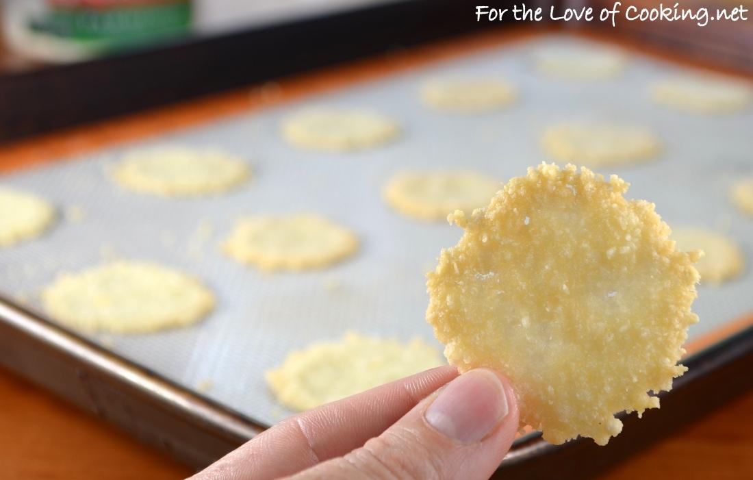 Mini Parmesan Crisps