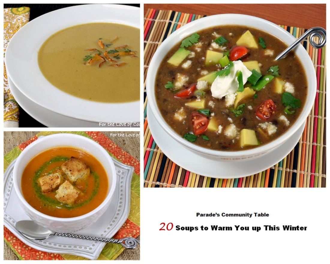 20 Soups to Warm You Up This Winter