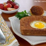 Grilled Cheese Egg-in-a-Hole