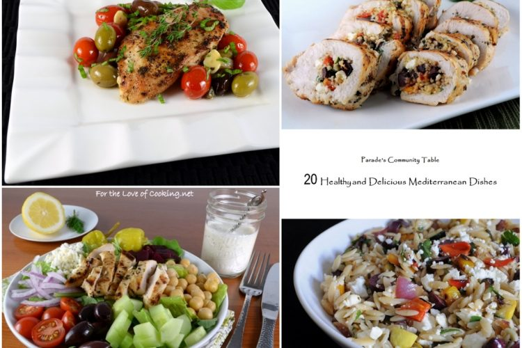 20 Healthy and Delicious Mediterranean Dishes