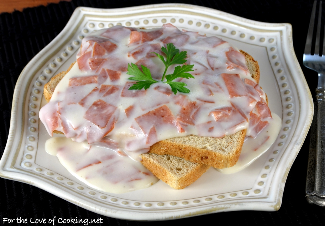 Creamed Chipped Beef on Toast (S O S )
