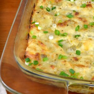 Homemade Cheesy Potato Casserole