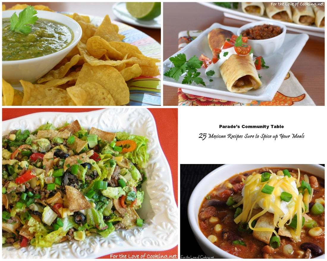 25 Mexican Recipes Sure to Spice up Your Meals