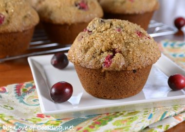 Cranberry Spice Muffins