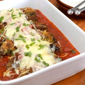 Portobello Mushroom Parmesan