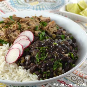 Quick Cuban Black Beans