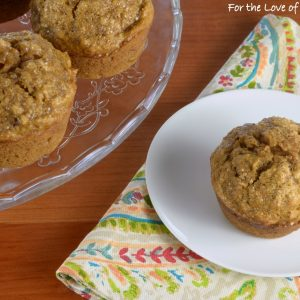 Simple Pumpkin Spice Muffins